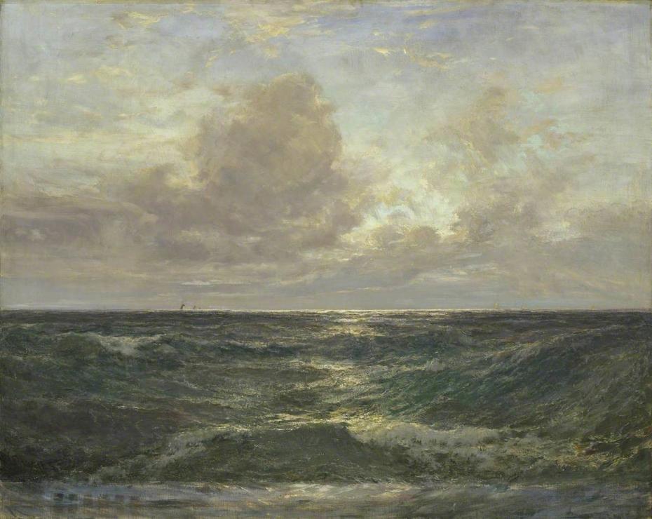 Sunset at Sea: From Harlyn Bay, Cornwall