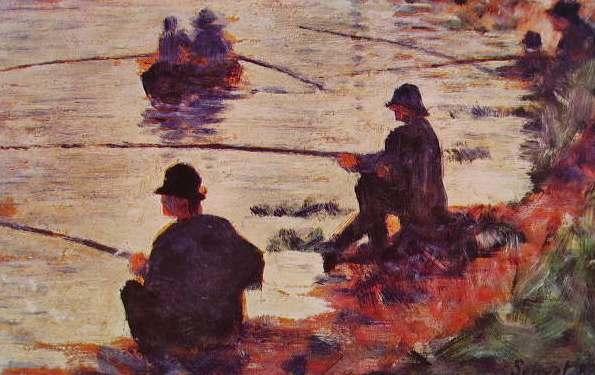 Les Pêcheurs à la ligne