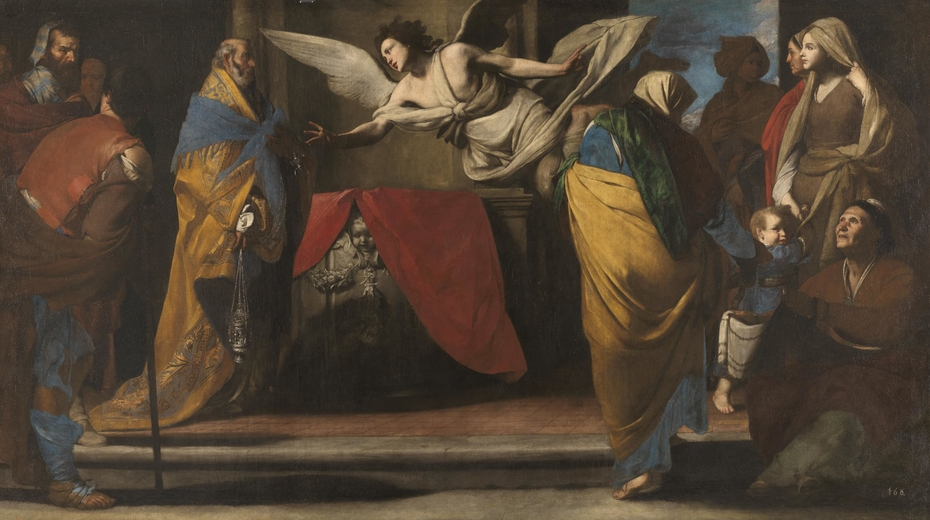The Birth of John the Baptist announced to Zacharias