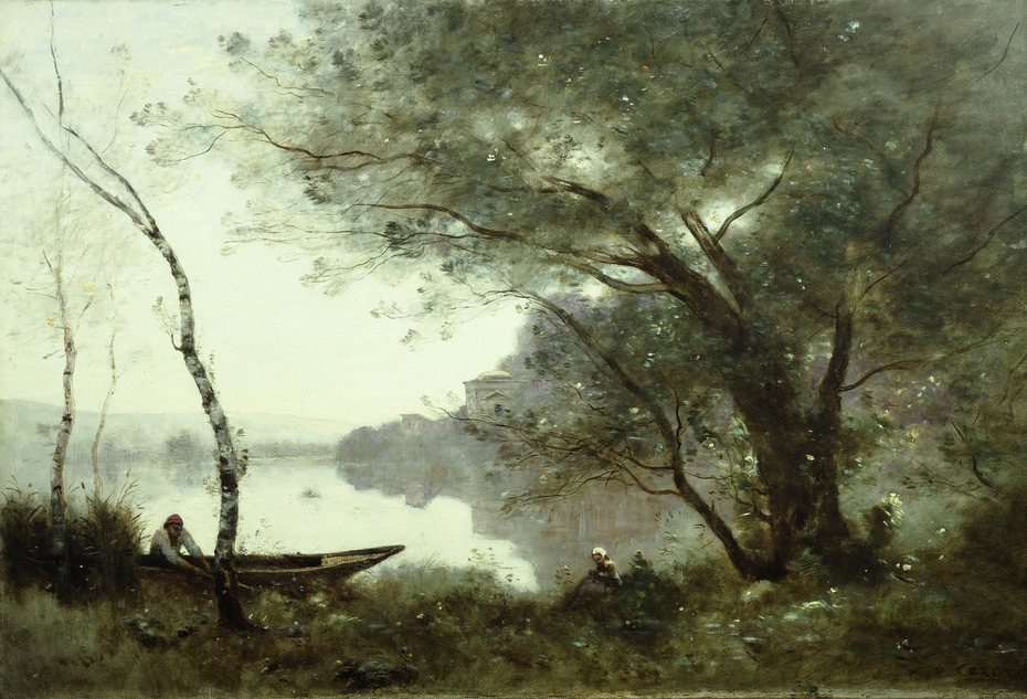 The Boatman of Mortefontaine