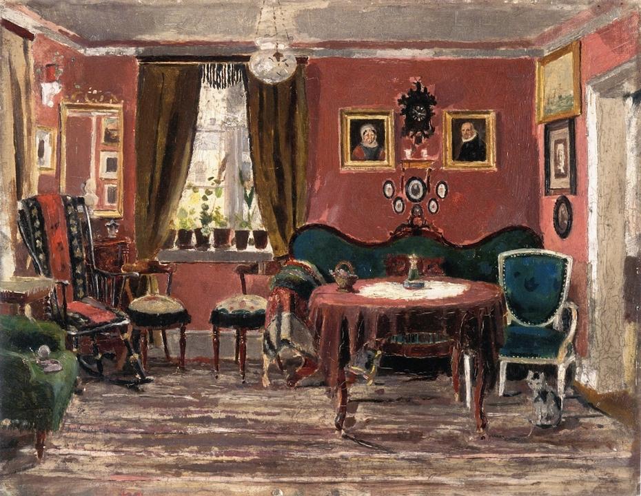 The Living-Room of the Misses Munch in Pilestredet 61