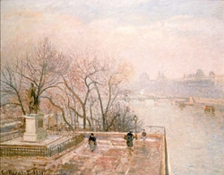 The Louvre, Sunset, Hoar-Frost (Second Series)