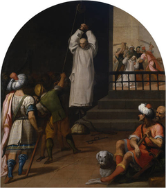 The Martyrdom of Father Andrés Prior of the Seiz Charterhouse