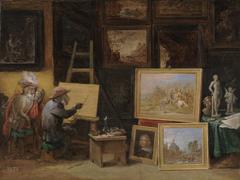 The Monkey Painter