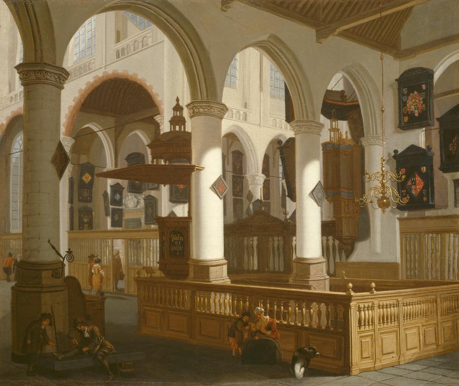 The Oude Kerk, Delft