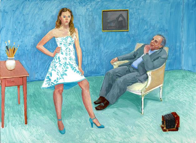 The Photographer & His Daughter (Jim & Chloe McHugh)