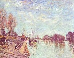 The Seine near Suresnes
