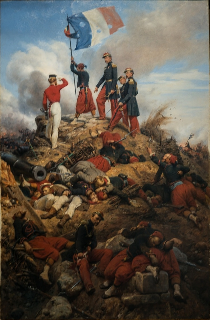 The Taking of the Malakoff Redoubt