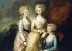 The Three Eldest Princesses: Charlotte, Princess Royal (1766-1828), Augusta (1768-1840) and Elizabeth (1770-1840)