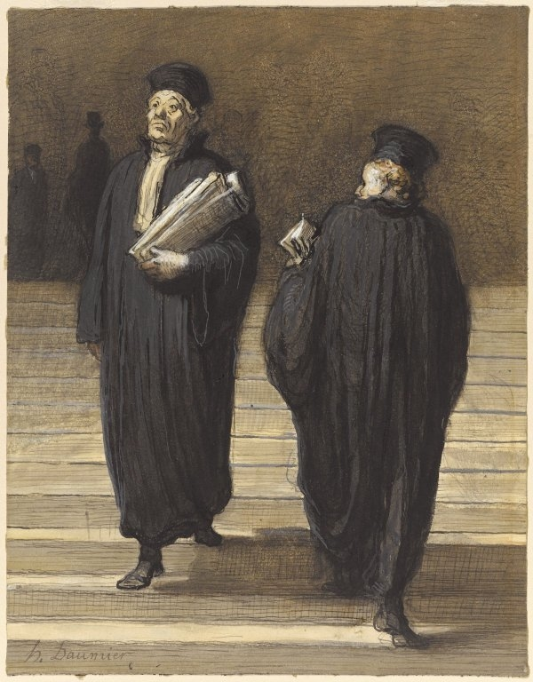 The Two Colleagues (Lawyers)