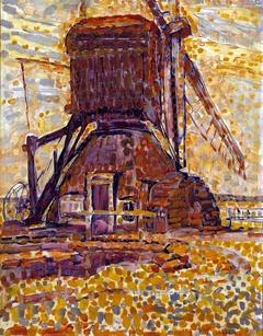 The Winkel Mill, Pointillist Version