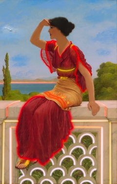 ''The signal'' A tribute to John William Godward