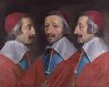 Triple Portrait of Cardinal de Richelieu