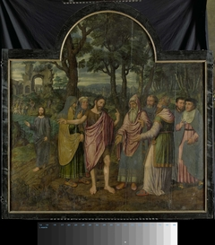 Triptych with Scenes from the Life of St John the Baptist