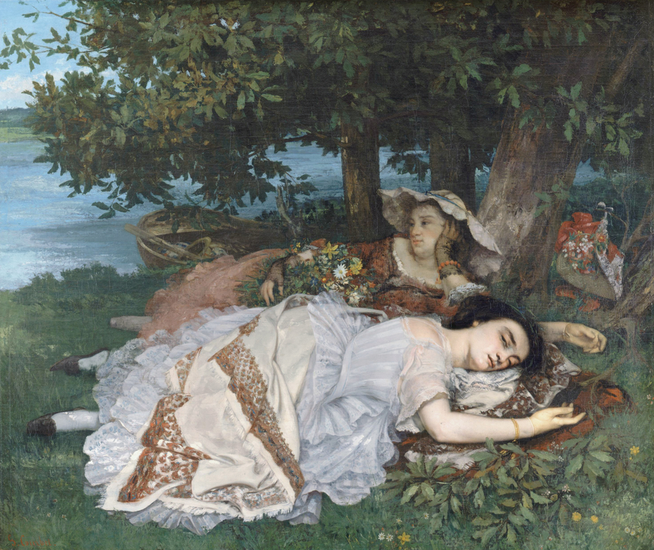 Les Demoiselles des bords de la Seine