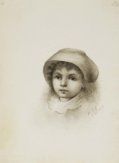 Untitled (Head of a Child with Hat)