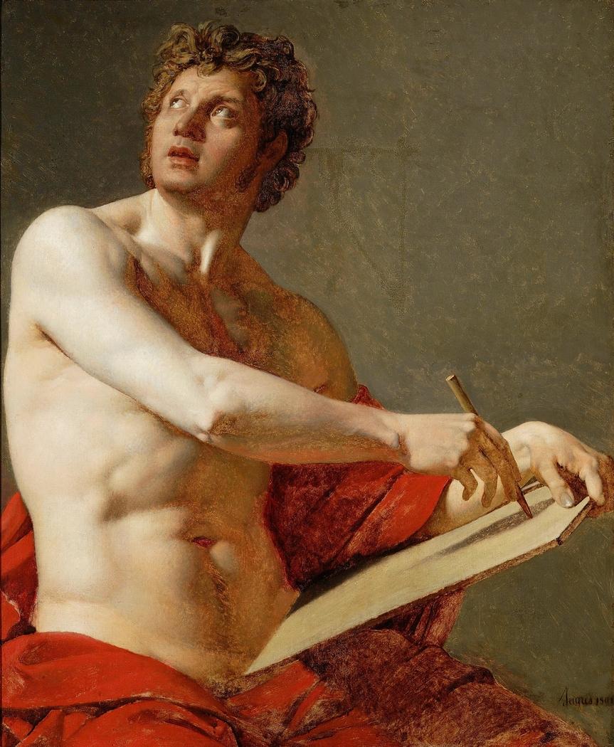 Academic study of a male torso