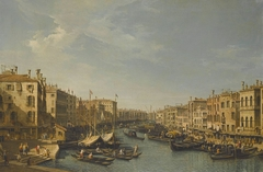 Venice, The Grand Canal, Looking South-West, From the Rialto Bridge to the Palazzo Foscari