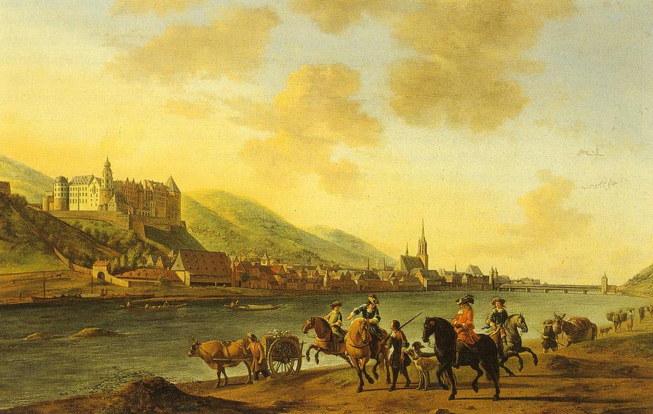 View of Heidelberg Schloss