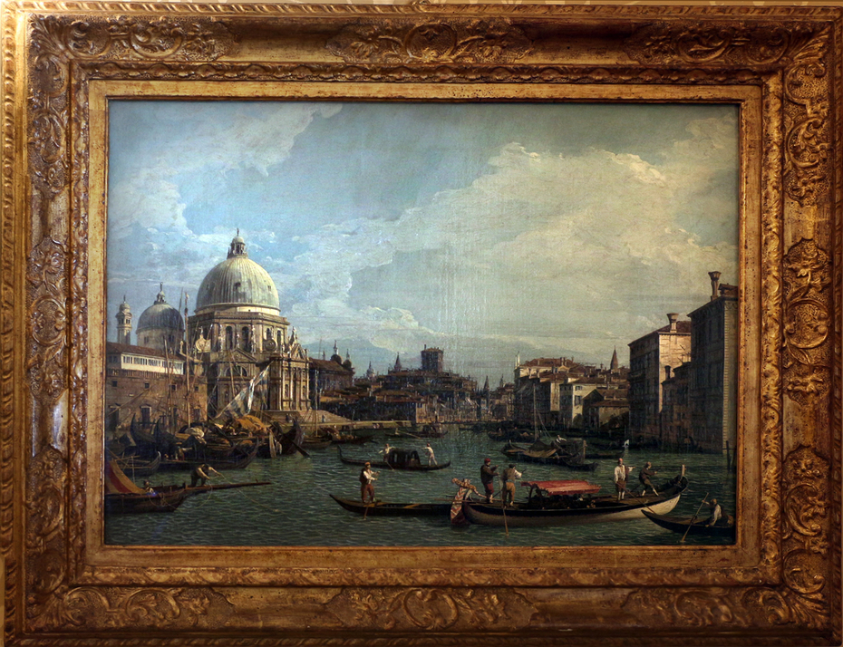 View of the Grand Canal and the Salute, Venice