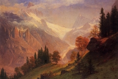 View of the Grindelwald