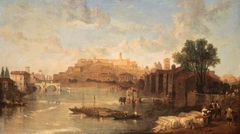 View on the Tiber, Rome