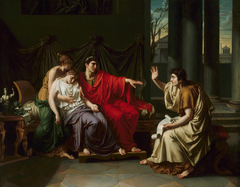 "Virgil Reading the ""Aeneid"" to Augustus, Octavia, and Livia"