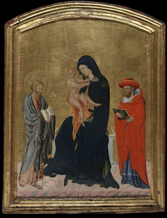 Virgin and Child with Saints Jerome and Bartholomew