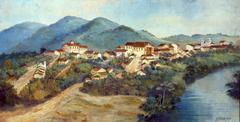 Vista de Guaratinguetá, 1835