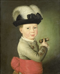 William George Frederick, Prince of Orange-Nassau, as a Child
