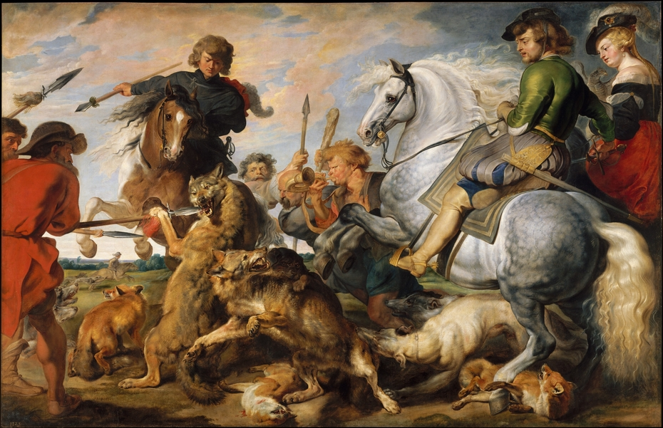 Wolf and Fox Hunt