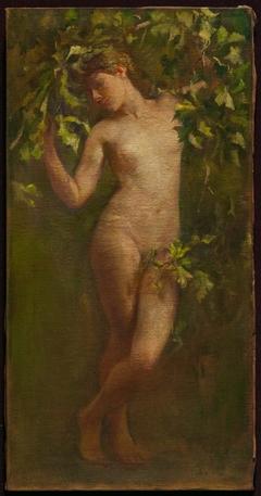 Woman Bending Down Branch (Study for Cornelius Vanderbilt II, House, New York)