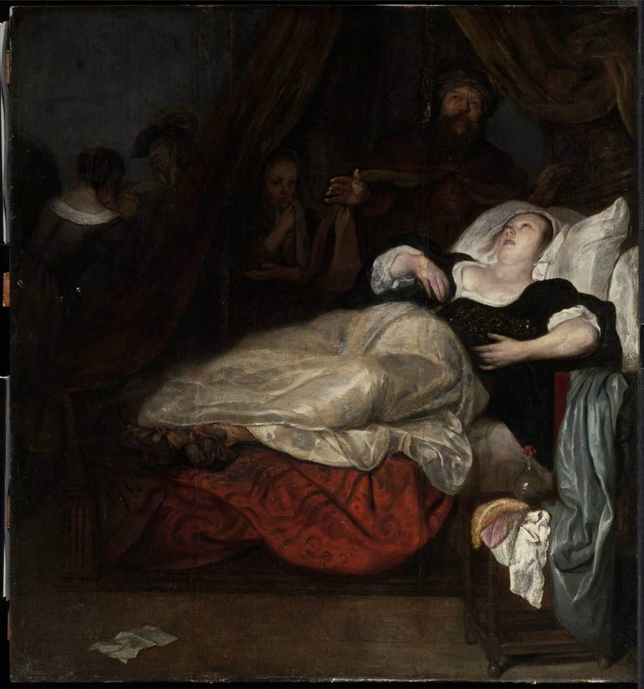 Woman in Agony (the Death of Sophonisba?)