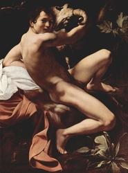Young Saint John the Baptist with ram