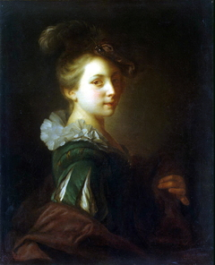 Young Woman in Theatrical Costume