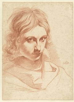 Zelfportret van Leendert van der Cooghen (?)