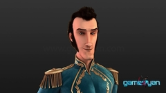 3D Prince Semi Realistic Low Poly Movie Character Model design by Gameyan Character Design Studio - London, UK