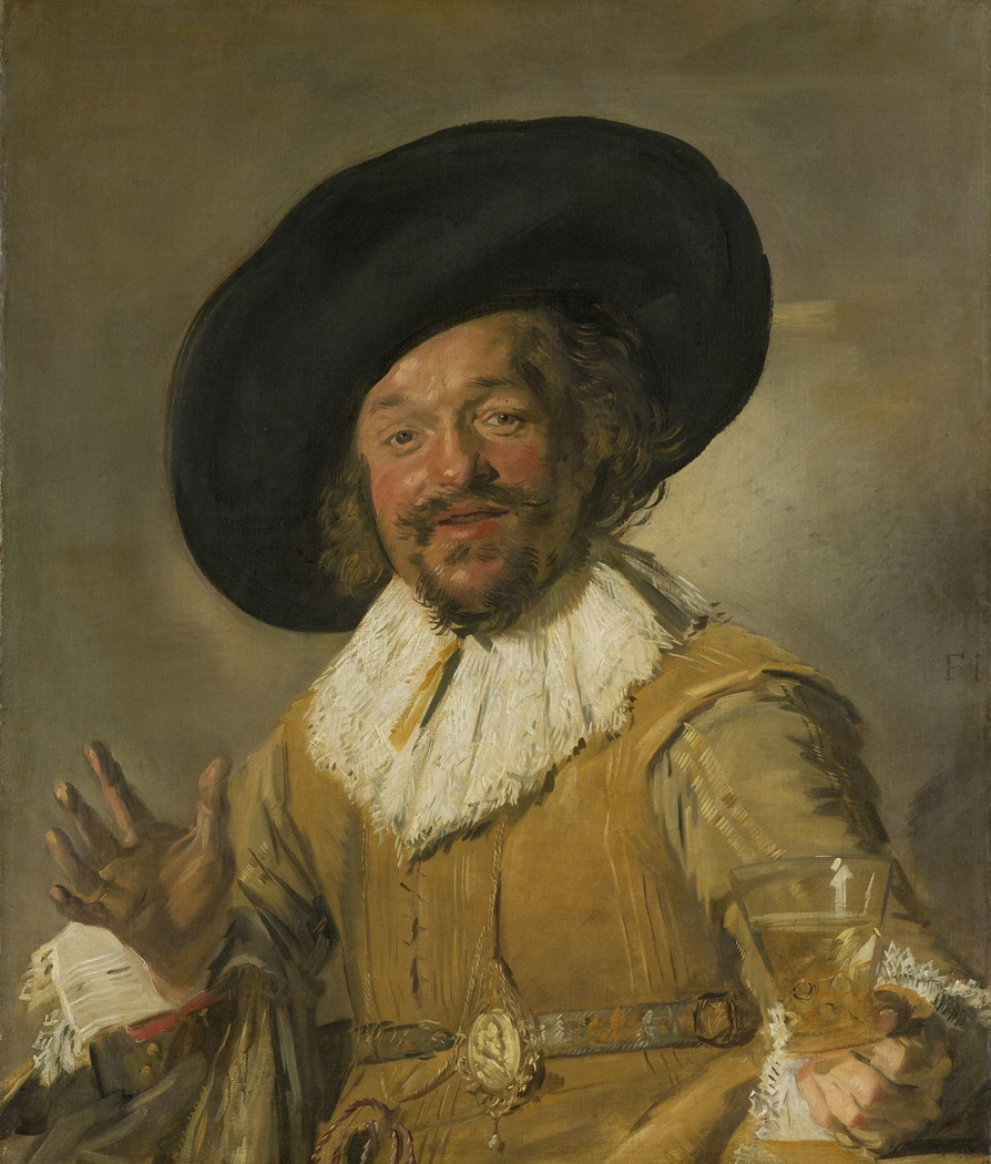 A Militiaman Holding a Berkemeyer, Known as the 'Merry Drinker'