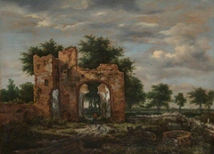 A Ruined Castle Gateway