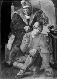 A Surgeon Operating on a Peasant