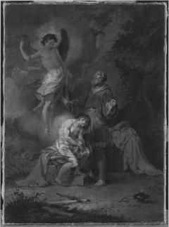 Abraham opfert Isaak