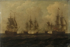 Action off Cape Francois, 21 October 1757