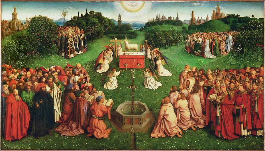 Adoration of the Mystic Lamb