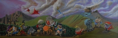 Allegory of Mardi Grass