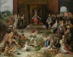 Allegory on the Abdication of Emperor Charles V in Brussels