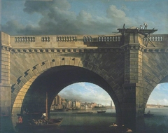 An Arch of Westminster Bridge