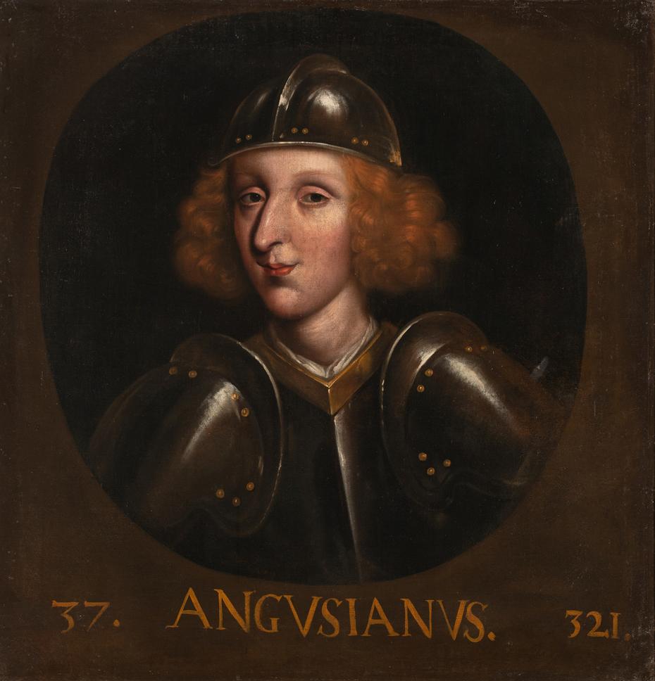 Angus, King of Scotland (354-7)