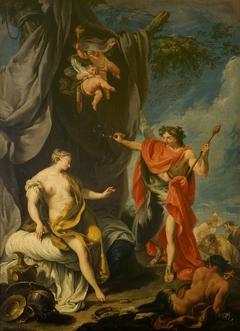 Bacchus and Arianna (Pittoni, Pinacoteca di Brera)