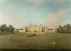 Badminton House from Badminton Park