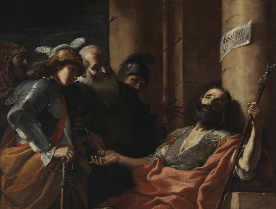 Belisarius Receiving Alms